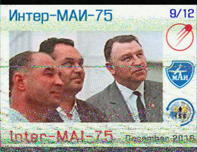 ISS SSTV 8th December 2016 from Malta